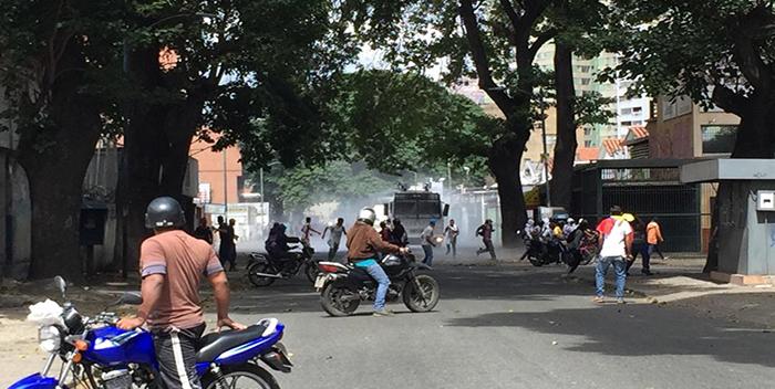 Represión en el Paraíso. Foto: Cortesía