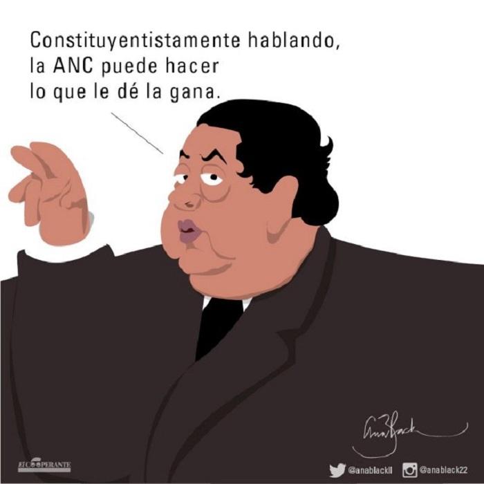 Caricaturas ANC