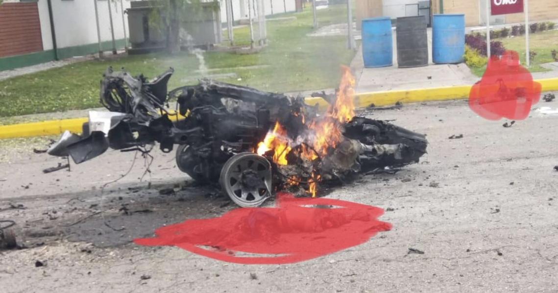 Carro Bomba explota en Bogotá