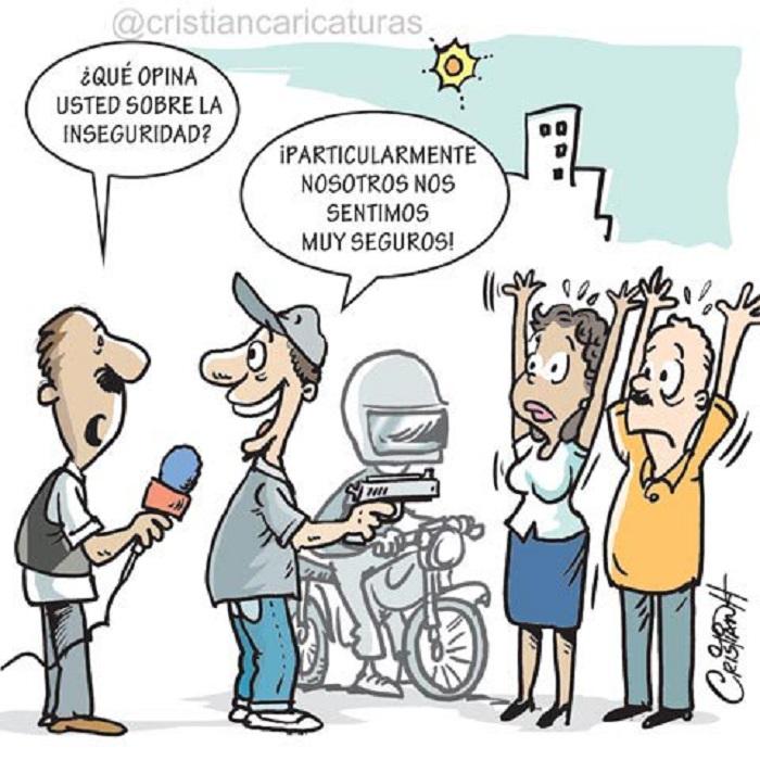 caricaturas inseguridad