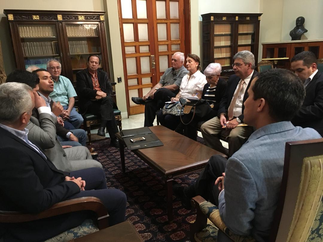 Guaido se reunió con Fedenaga y Fedeagro