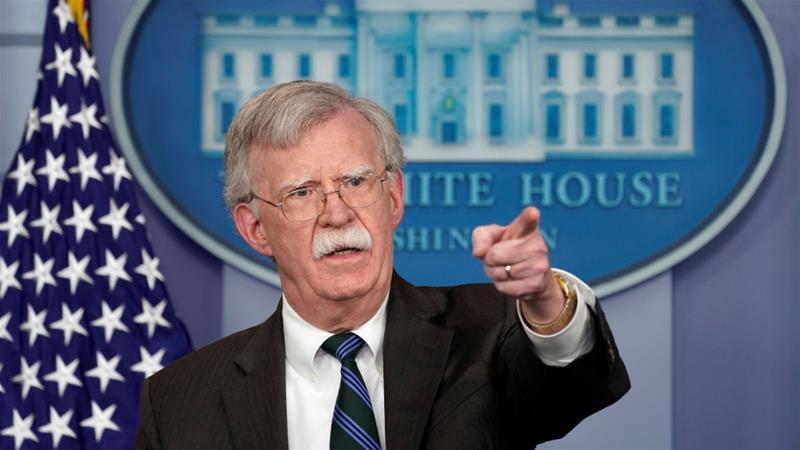 Resultado de imagen para Bolton destaca que el régimen de Maduro ya no puede comerciar ni con sus aliados.