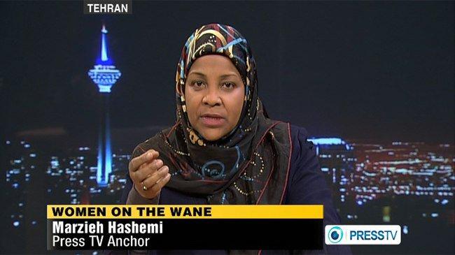 Marzieh Hashemi - Presentadora de Televisión de Irán