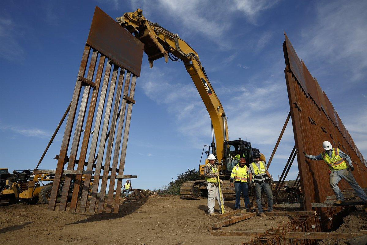 Muro fronterizo México
