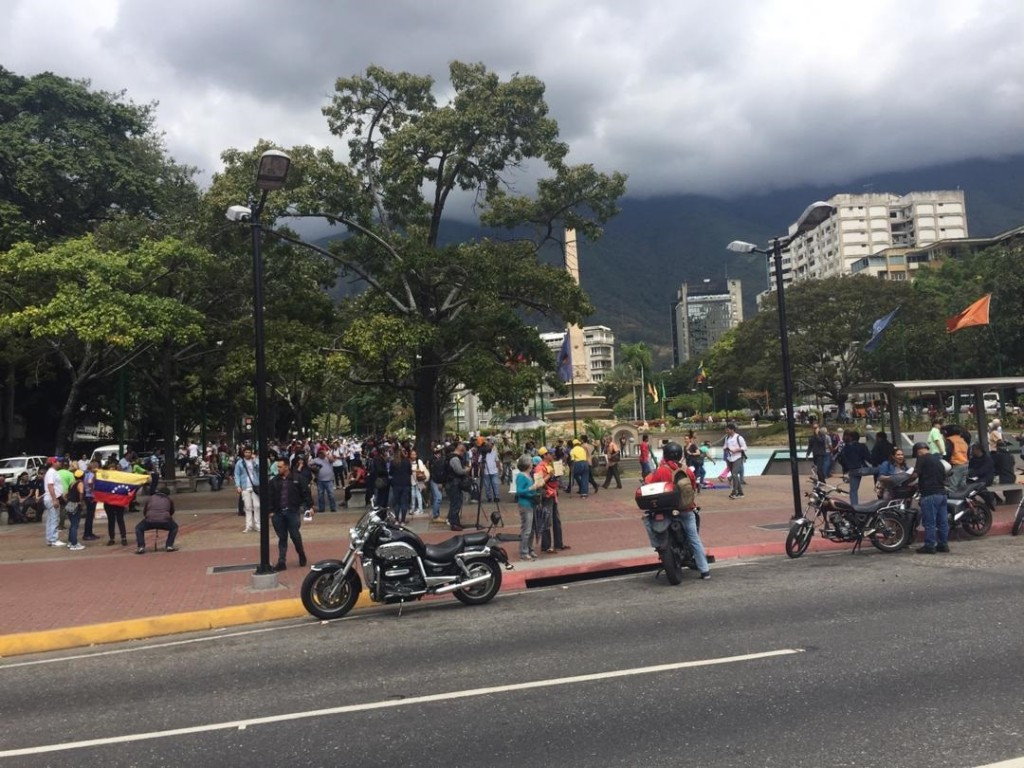 Protestas plantón 2