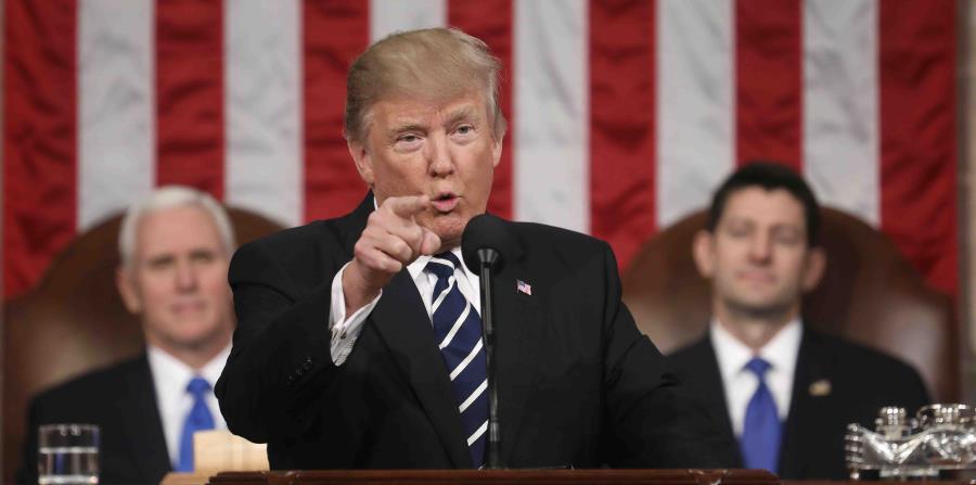 Trump mensaje a la nación