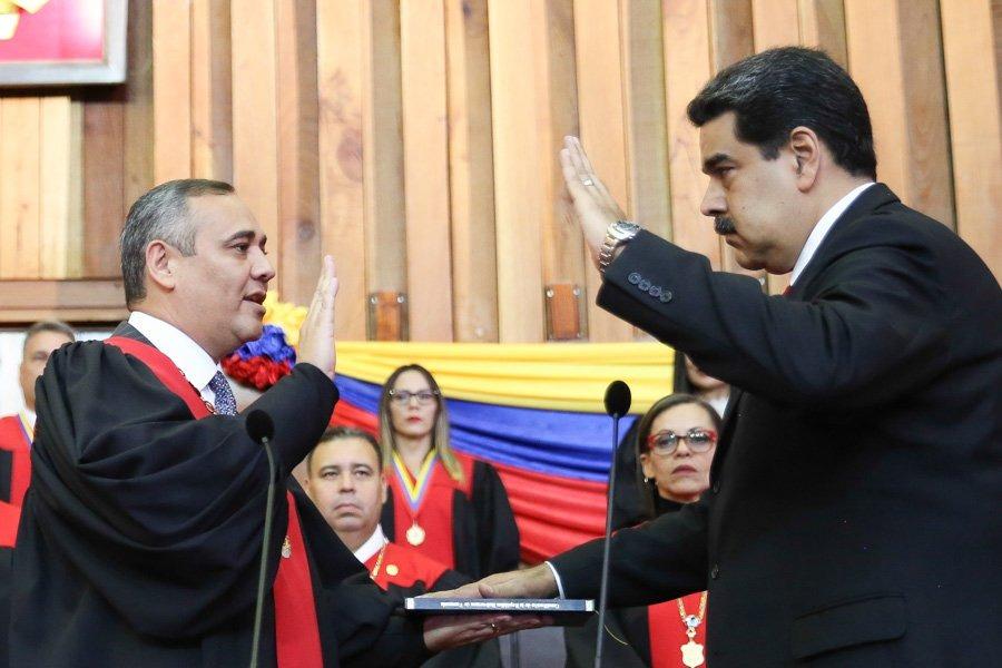 Juramentación Maduro