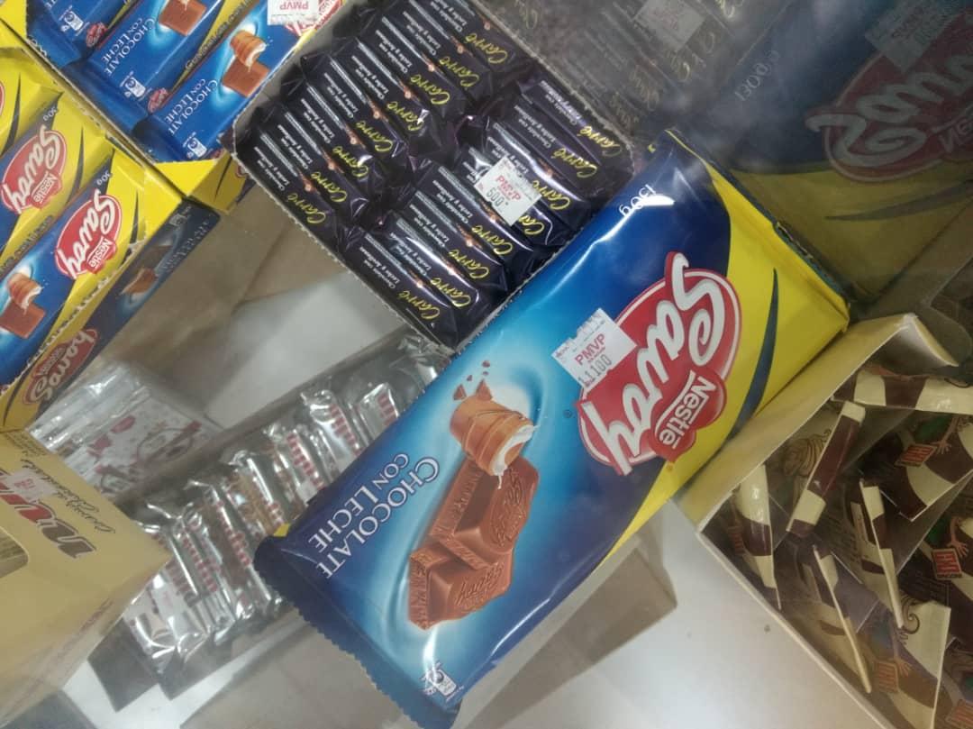 Ni pa' un gustico | Mire el exorbitante precio de un simple chocolate