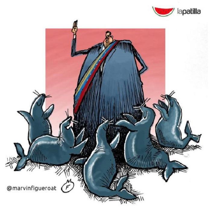 caricatura maduro