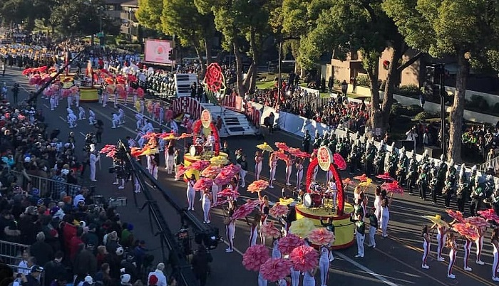 desfile de las rosas 1