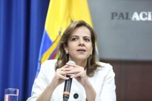 Ministra de Interior de Ecuador