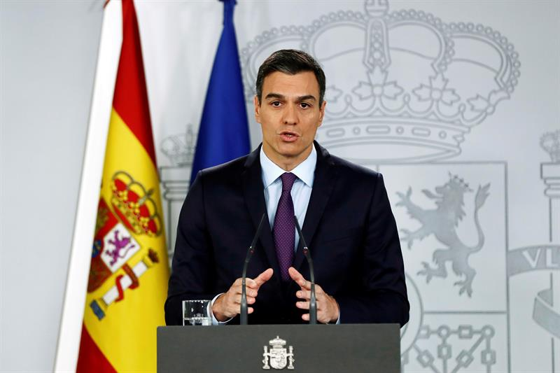 Pedro Sánchez del PSOE. Foto: EFE