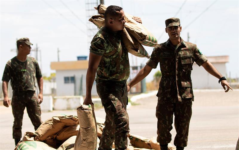 Ayuda Humanitaria de Brasil para Venezuela. Foto: EFE