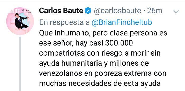 Respuesta de Carlos Baute sobre puente Tienditas_opt