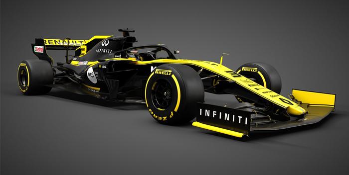 reanult presentacion del carro 2019, formula 1, pilotos -f-@renaultf1teram 1