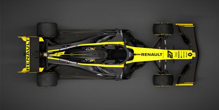 reanult presentacion del carro 2019, formula 1, pilotos -f-@renaultf1teram 3