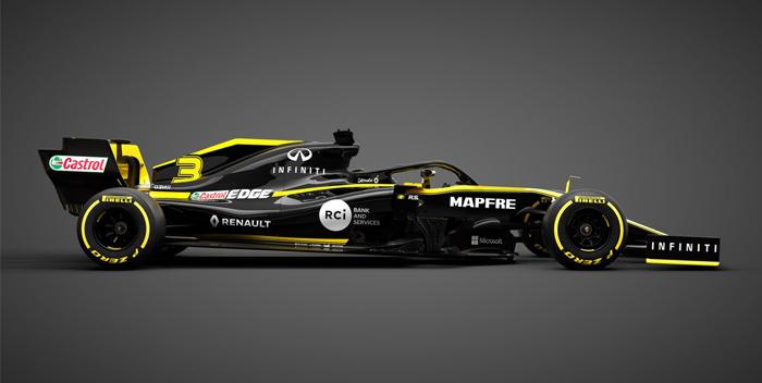 reanult presentacion del carro 2019, formula 1, pilotos -f-@renaultf1teram 4