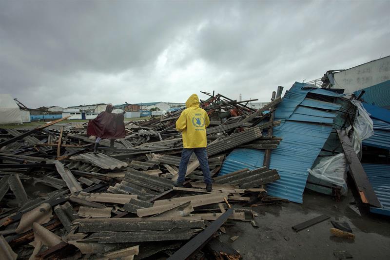 ciclon en África