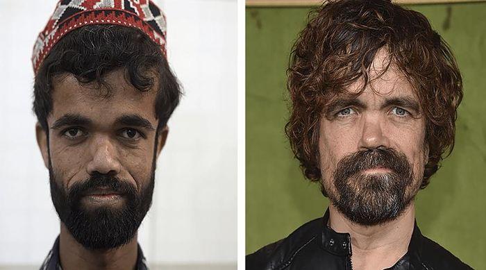 Paquistaní salta a la fama por su parecido con actor de Juego de Tronos - Peter Dinklage