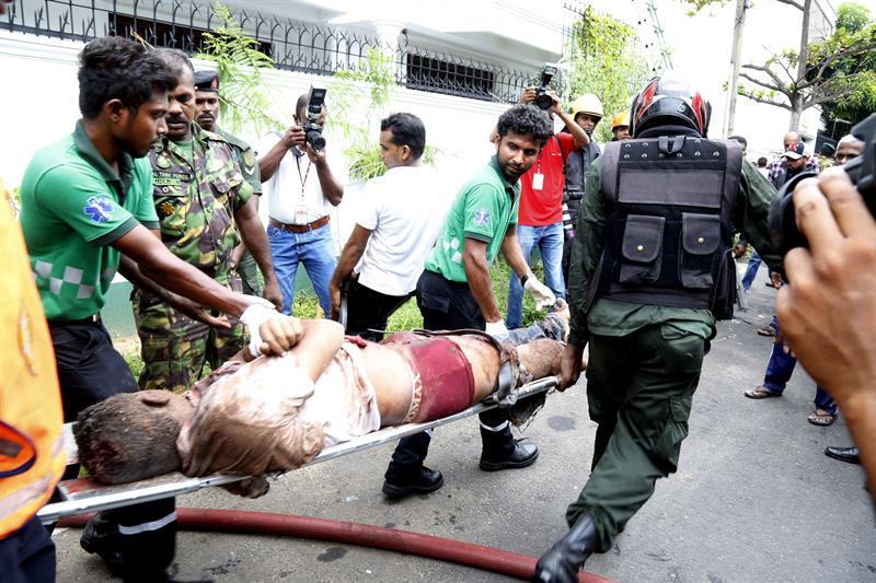 Sri Lanka atentados 1
