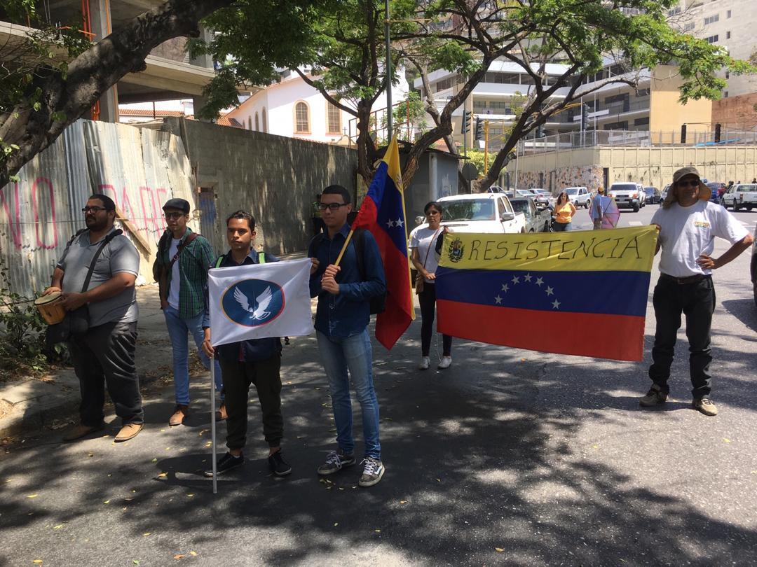 manifestantes, embajada de rusia 7