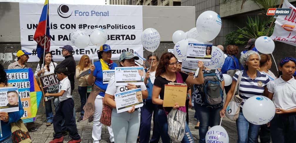 protesta presos políticos 1