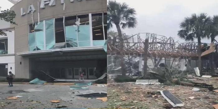 explosión en La Fitness Florida