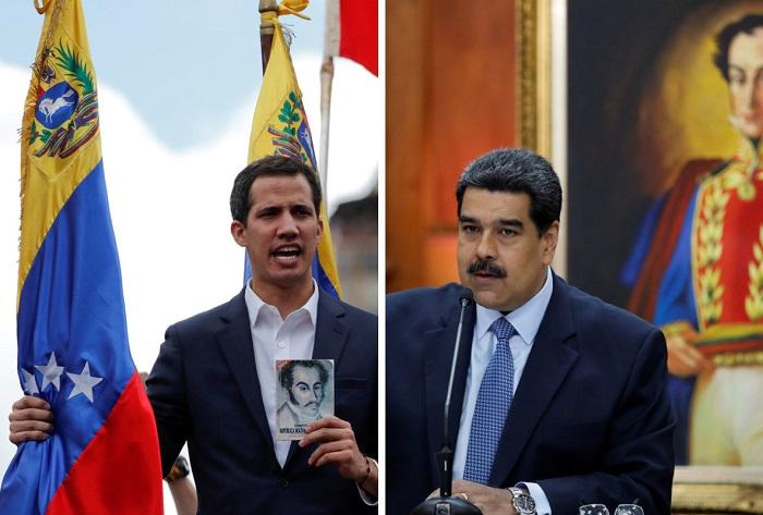 Juan-Guaido-Nicolas-Maduro