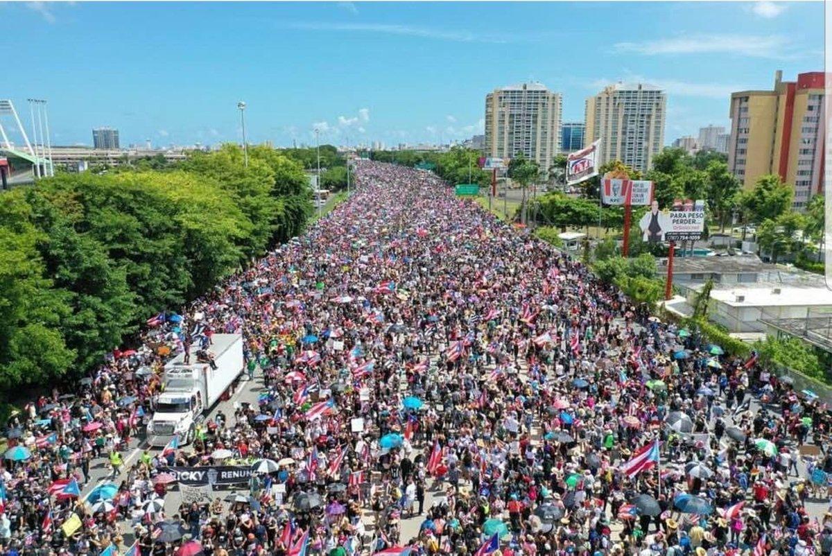 Marcha en Puerto Rico