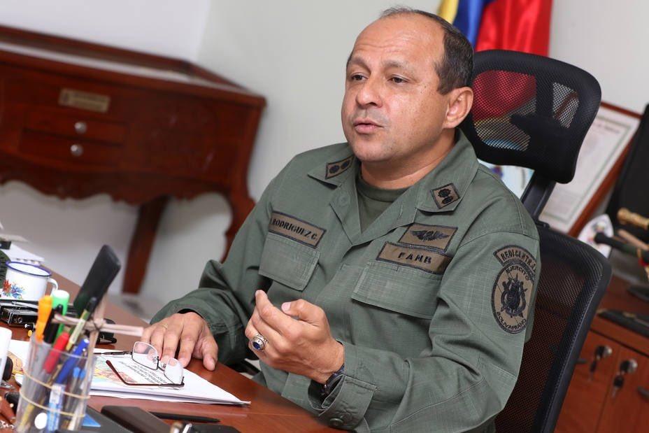 Mayor General Alexis Rodríguez Cabello