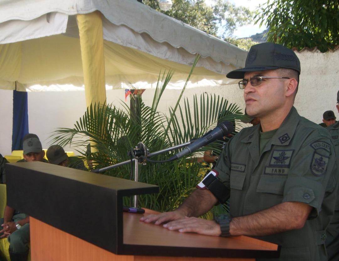Mayor General Fabio Enrique Zavarce