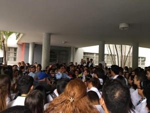 protesta estudiantes medicina ucv