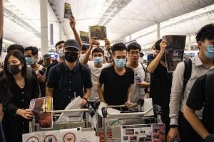 Hong Kong protestas, EFE