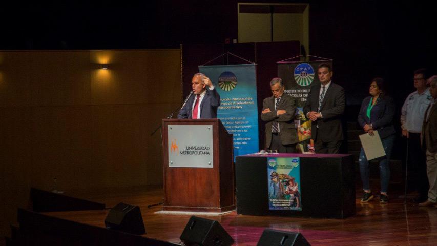 Aquiles Hopkins - Asamblea Anual de Fedeagro en la Unimet