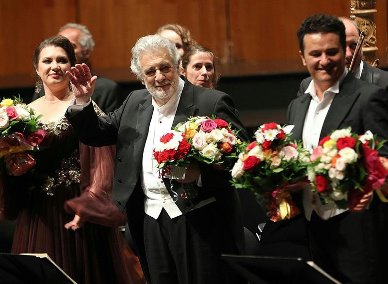 Plácido Domingo aclamado en Salzburgo 25-8-19