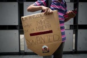 protesta amazonía caracas 4