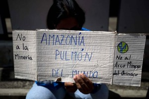 protesta amazonía caracas 6