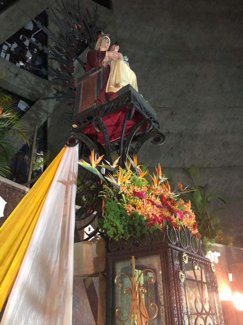 Virgen de Coromoto en Guanare