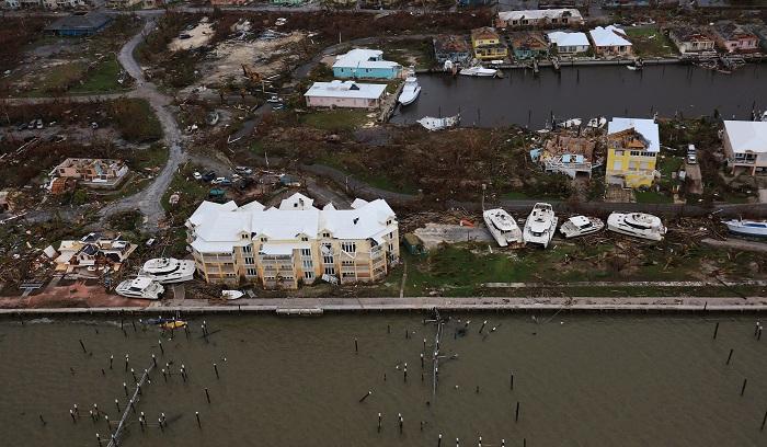 Great Abaco, Bahamas Hurricane Dorian aftermath