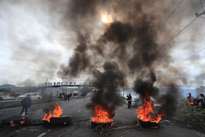 ECUADOR PROTESTAS (3)
