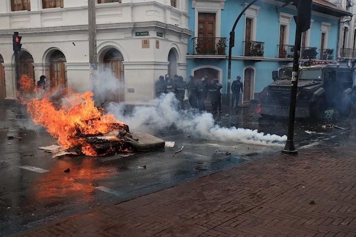 ECUADOR PROTESTAS (5)