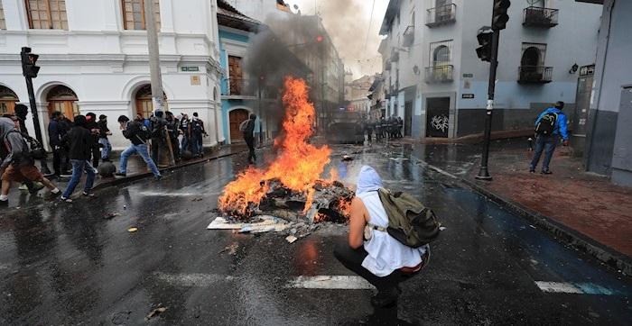 ECUADOR PROTESTAS (6)