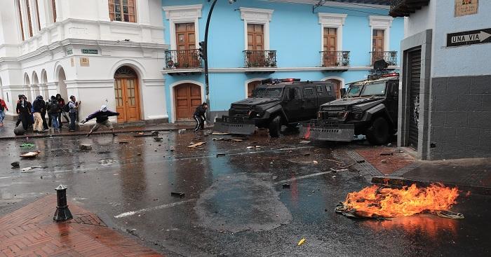ECUADOR PROTESTAS (8)