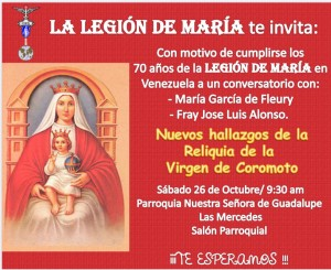 conversatorio Virgen de Coromoto