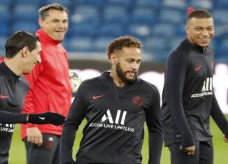 Mbappé y Neymar