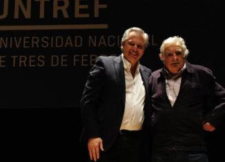 Alberto Fernández y Pepe Mujica