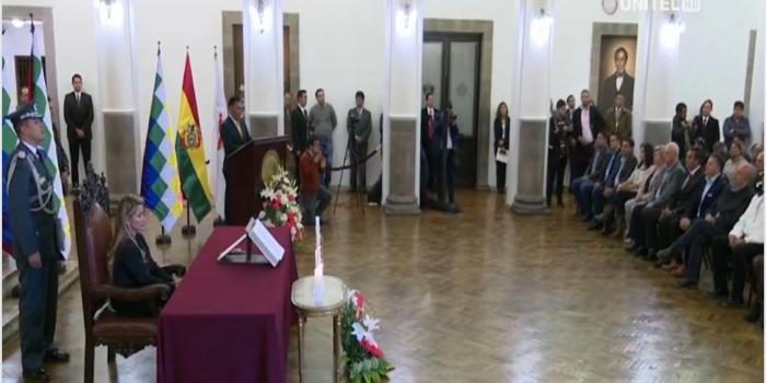 gabinete Bolivia