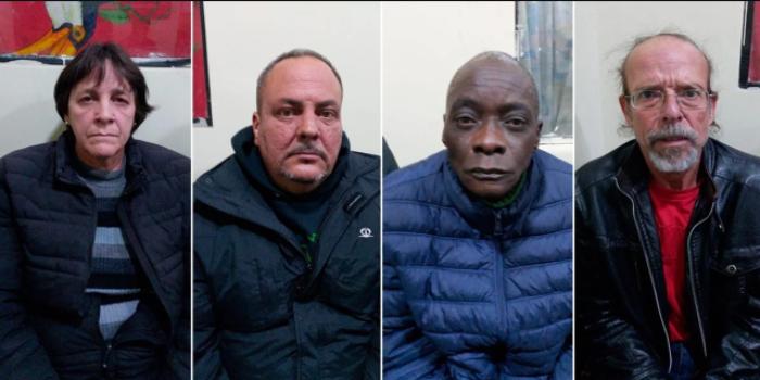 Cubanos detenidos Bolivia