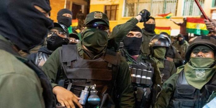 motín policial Bolivia