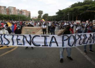 Cali protestas 21nov